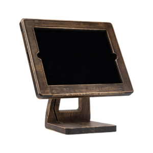 Freeform Made Wooden Stand