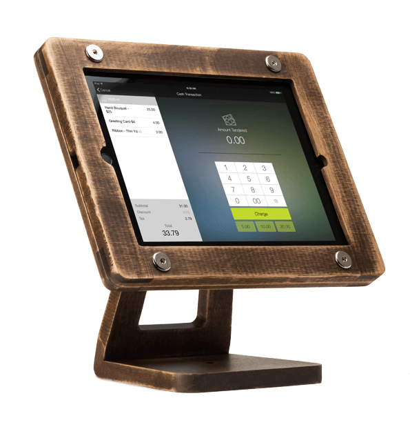 Freeform Woodworks iPad Air Stand (Antique Wood)