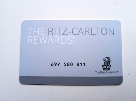 The Ritz-Carlton Rewards Program