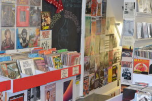 Flashback Record Shop Interior Shoreditch