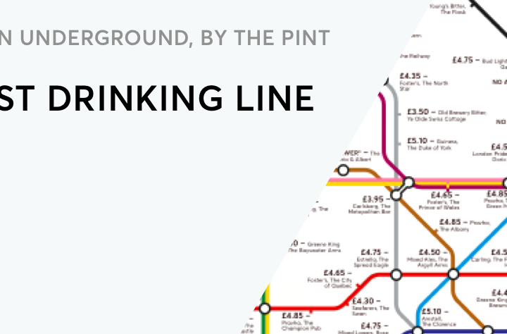 The London Underground, By the Pint – The Best Drinking Line