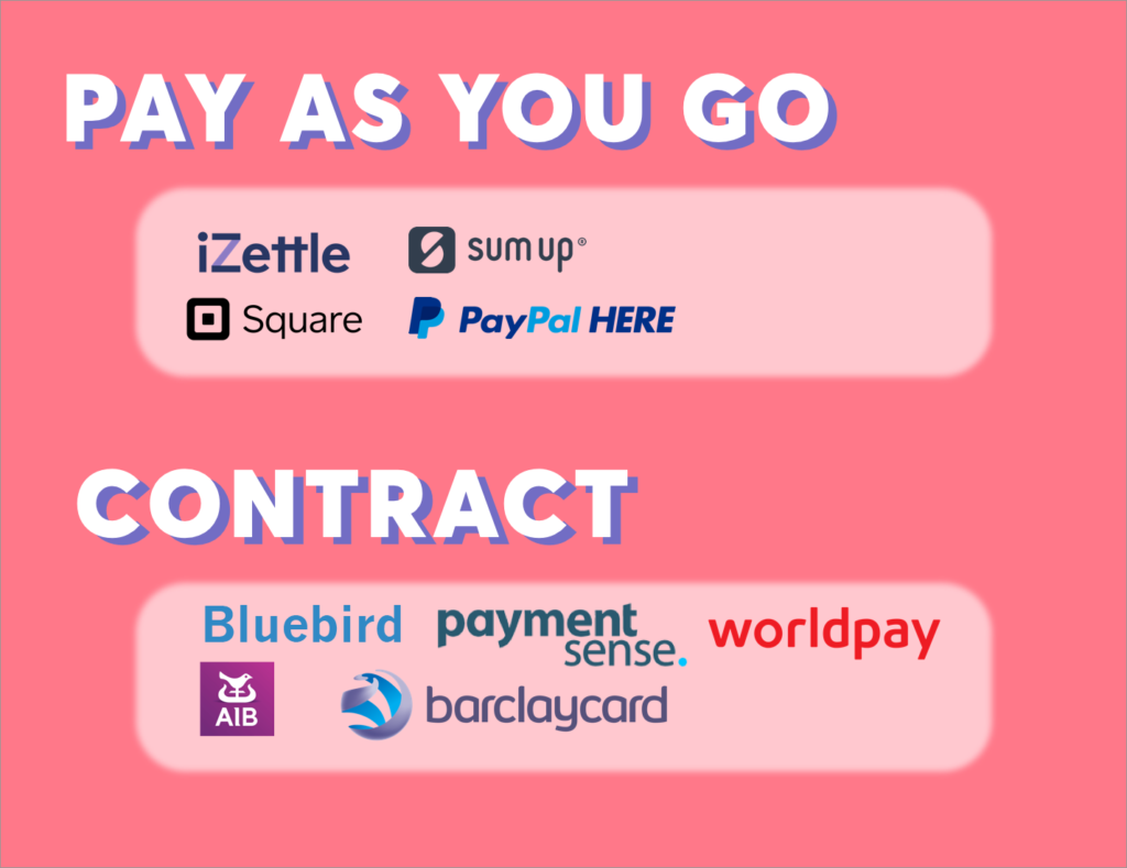 Pay-as-you-go versus contract providers