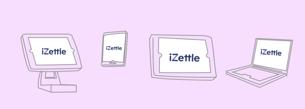 iZettle in different forms