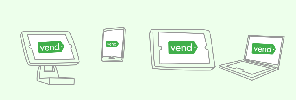 Vend in different devices