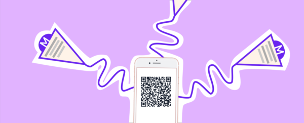 QR code for table ordering
