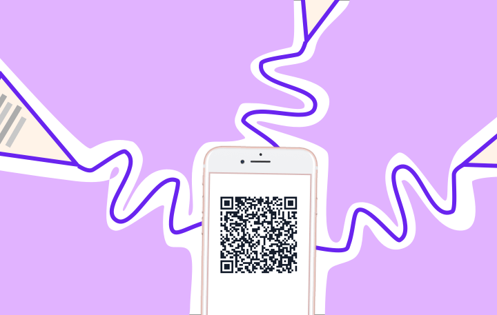 Where can I print QR codes for my restaurant?