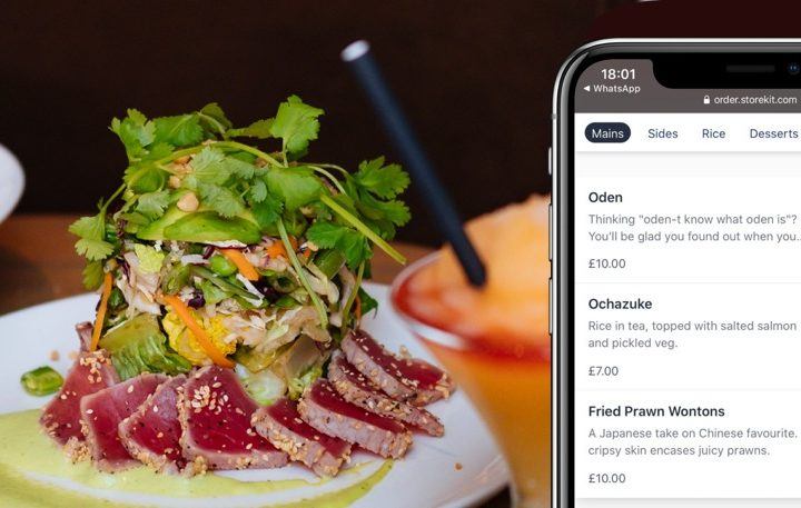Can online ordering work with posh menus?