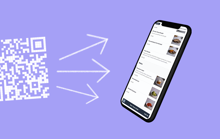 How to create a QR code menu for free
