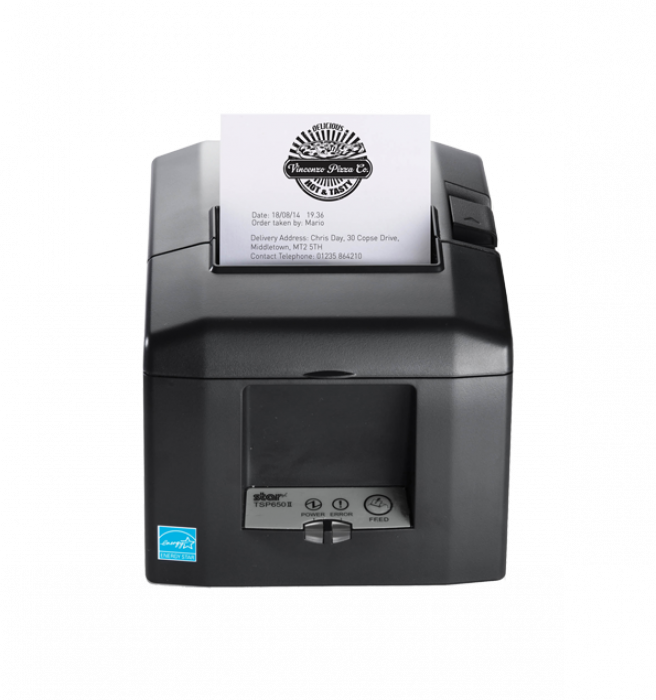 Star TSP654IIBI Bluetooth Printer