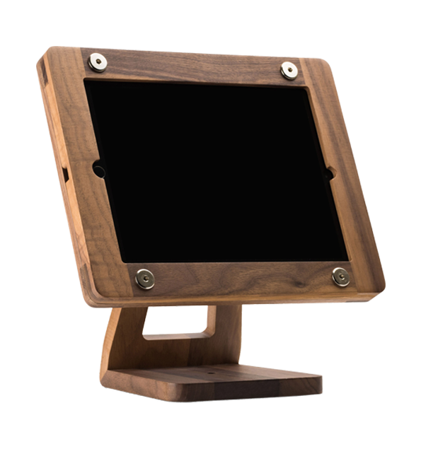 Freeform woodworks ipad air stand storekit france for Air france assistance chaise roulante